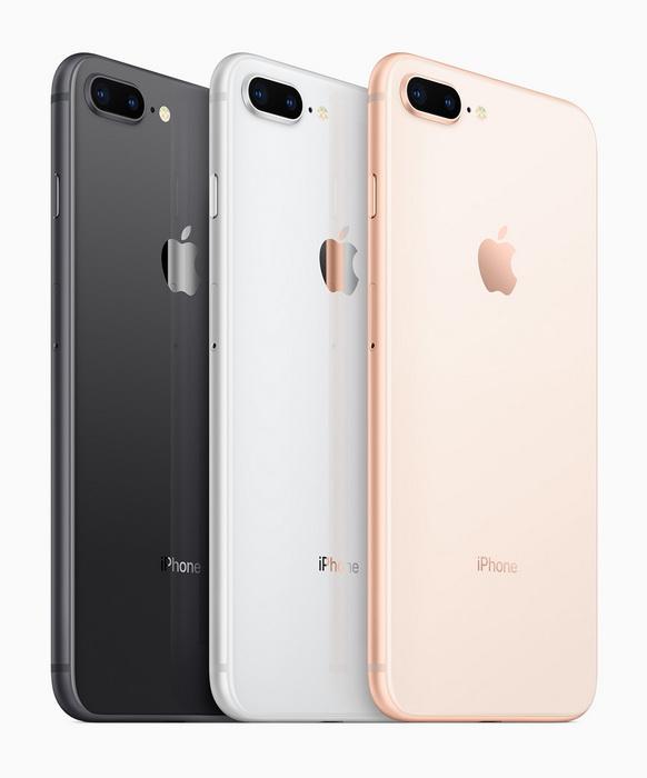 iPhone 8 и iPhone 8 Plus уже в продаже Apple  - iphone_8_press_02-2