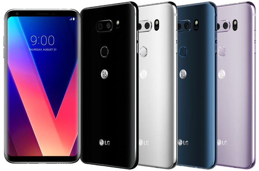 Расценки смартфона LG V30 в Европе и США LG  - lg_v30_1