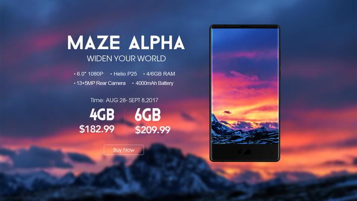 Безрамочный Maze Alpha с 6 ГБ ОЗУ по супер цене Другие устройства  - maze_alpha_discount