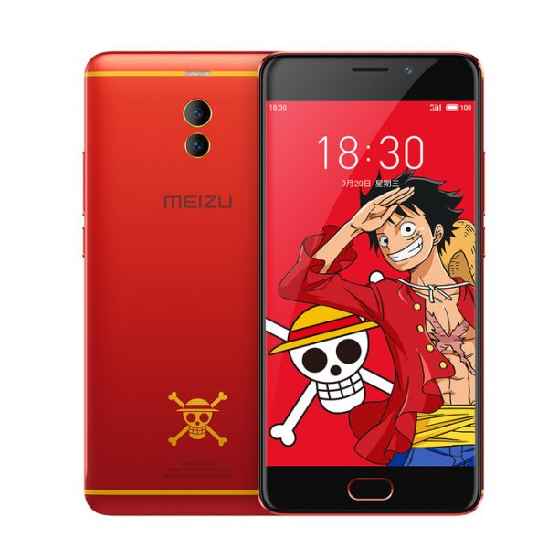 Meizu показала стильный M6 Note One Piece Edition в красном цвете Meizu  - meizu_m6_note_limited_01