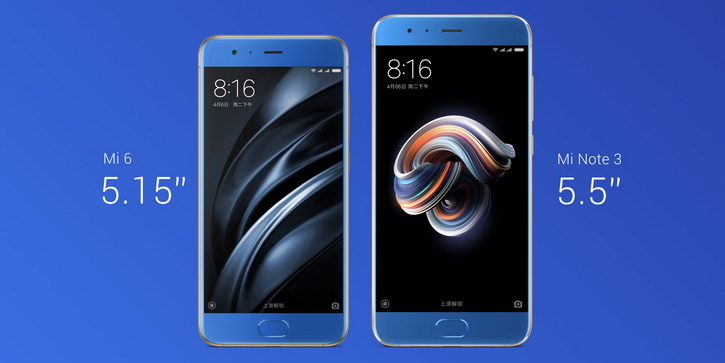 Анонс Xiaomi Mi Note 3 - такой же как Mi6, но больше Xiaomi - mi_note_3_anons_01