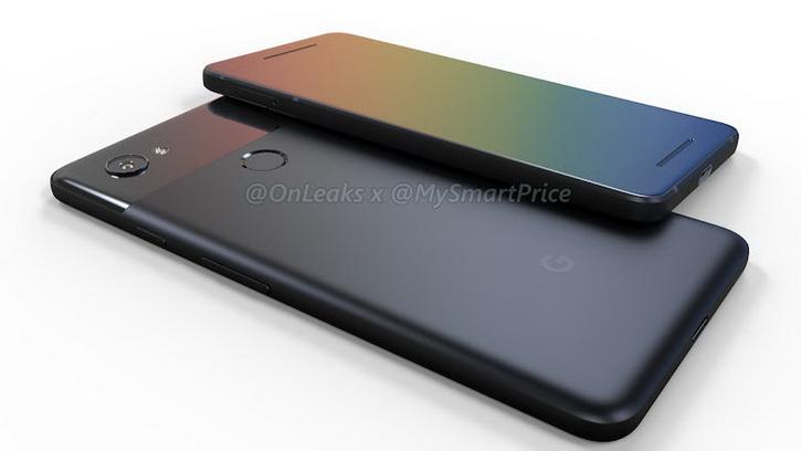 Google Pixel 2 получит портретный режим, стереодинамики и еще кое-что Другие устройства  - pixel_2_xl2_render_onleaks