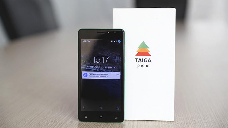 Встречайте Российский криптофон TaigaPhone(Тайгафон): фото и характеристики Другие устройства  - taigaphone_2