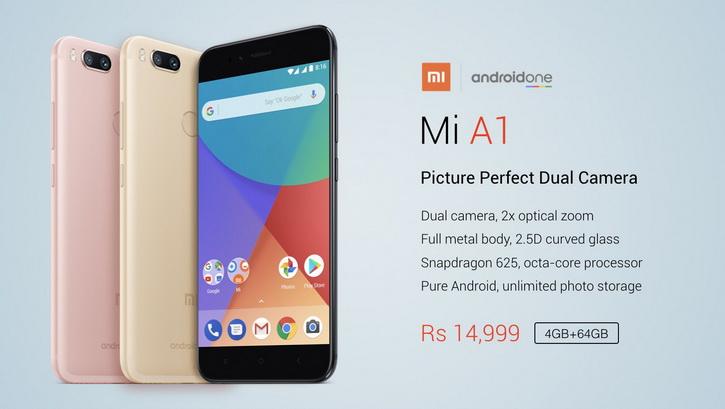Анонс Mi A1 – первый мобильный гаджет Xiaomi без оболочки MIUI Xiaomi  - xiaomi_mi_a1_anons_07