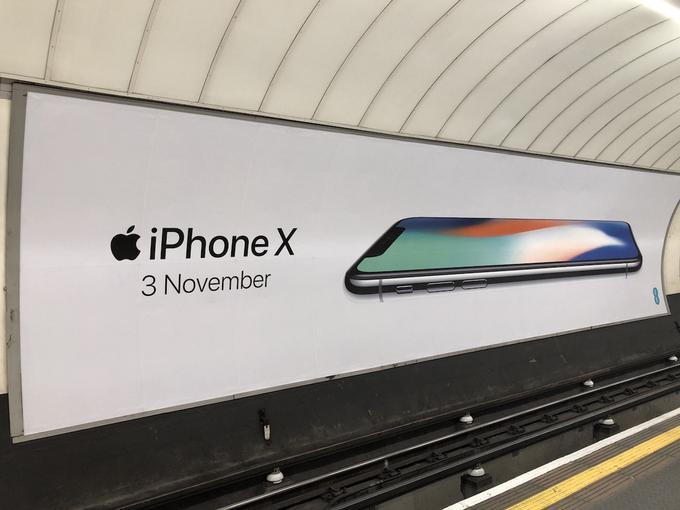 Рекламные щиты Apple по всему миру предрекают выход iPhone X Apple - 0eb578c60d78cb43e2f50477c52dbe33