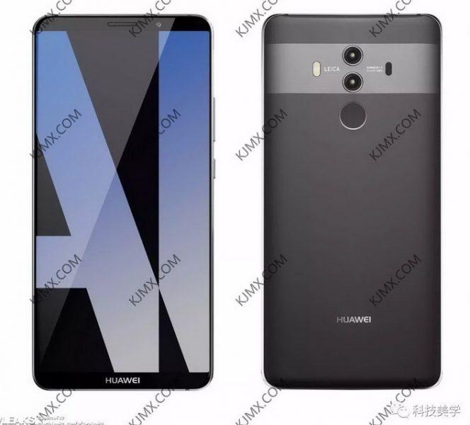 Больше новых рендеров Huawei Mate 10 Pro в трех расцветках Huawei  - Skrinshot-04-10-2017-185011
