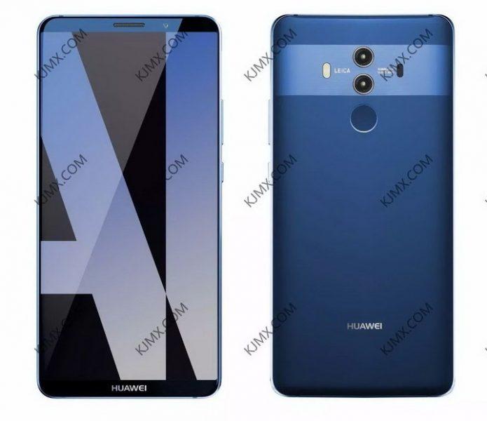 Больше новых рендеров Huawei Mate 10 Pro в трех расцветках Huawei  - Skrinshot-04-10-2017-185049
