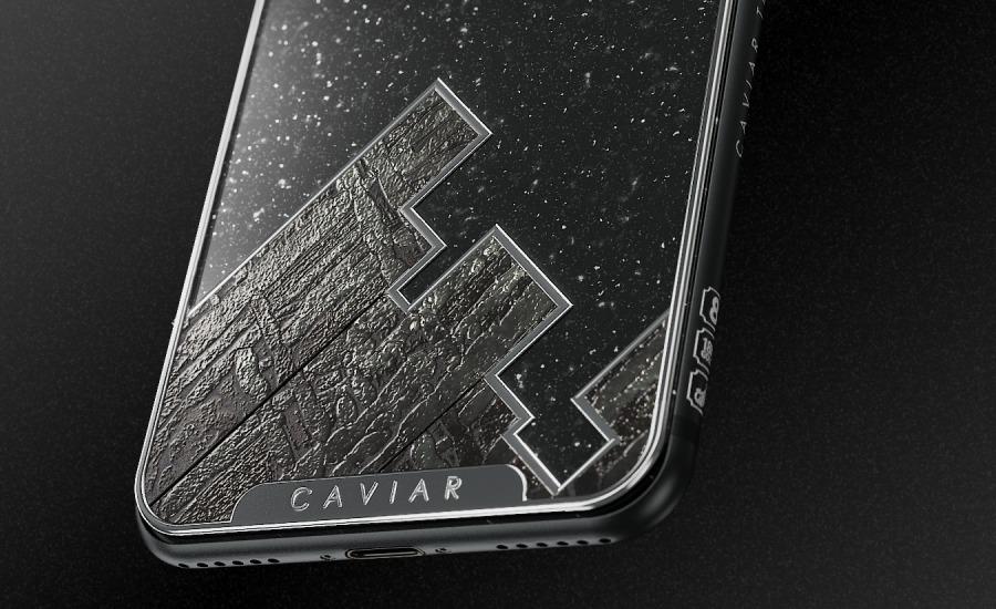 Русский метеорит - iPhone X за 244 000 рублей Другие устройства  - caviar_tesoro_meteor3_photo2