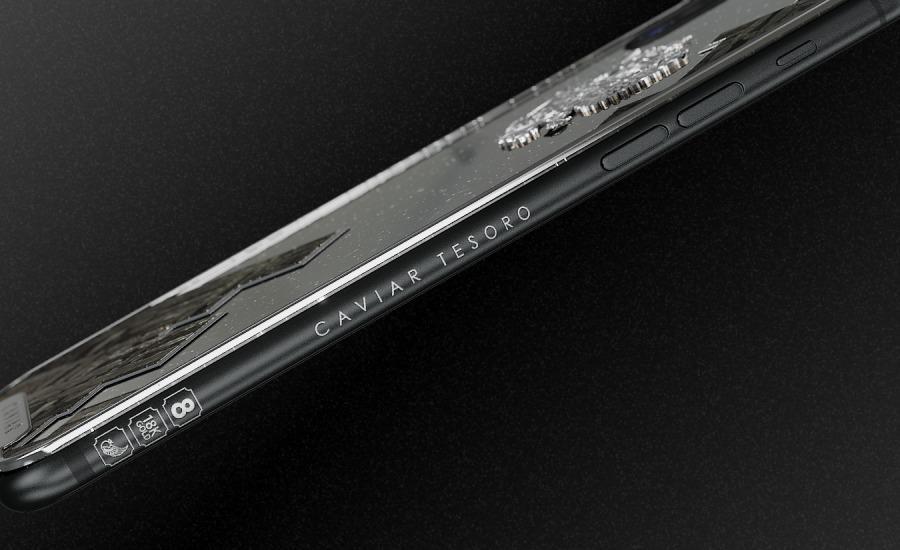 Русский метеорит - iPhone X за 244 000 рублей Другие устройства  - caviar_tesoro_meteor4_photo3