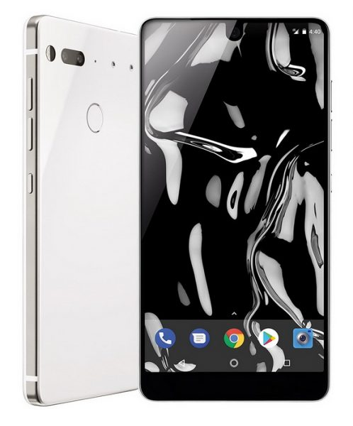 Белый Essential Phone уже на прилавках Other - essential_phone_white