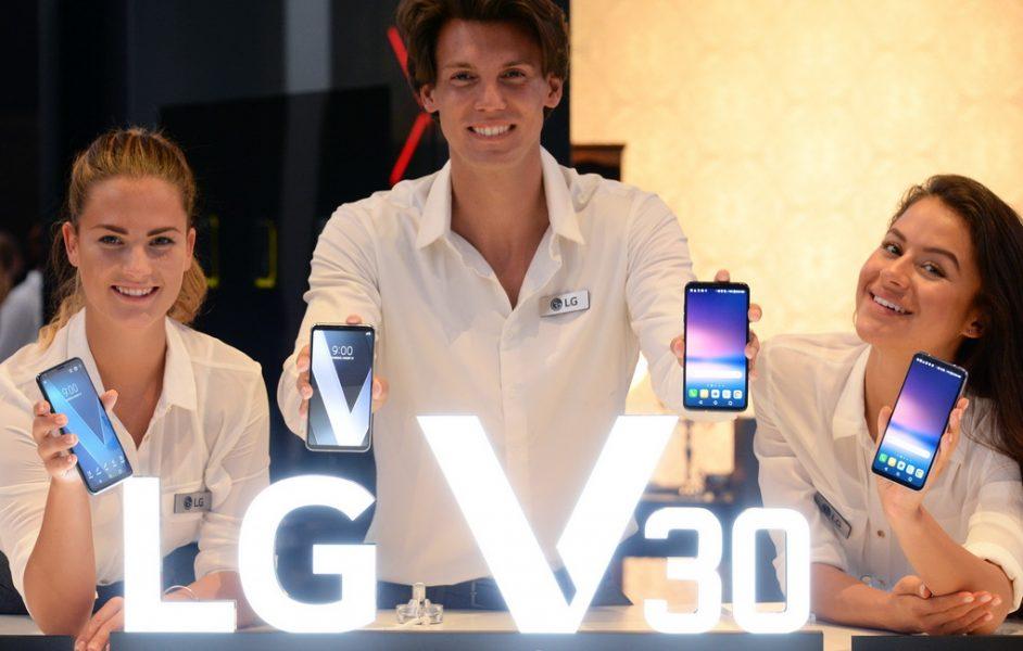 Обзор нового флагмана LG V30. Гаджет, которым хочется обладать LG  - lg-v30-foto-s-meropriyatiya