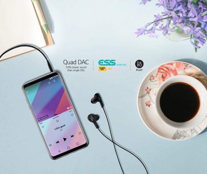 Обзор нового флагмана LG V30. Гаджет, которым хочется обладать LG  - lg-v30-hi-fi-quad-dac