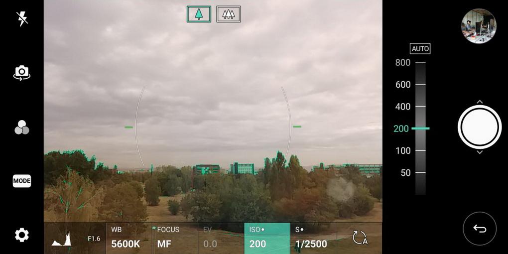 Обзор нового флагмана LG V30. Гаджет, которым хочется обладать LG  - lg-v30-kamera-manual-mode-5