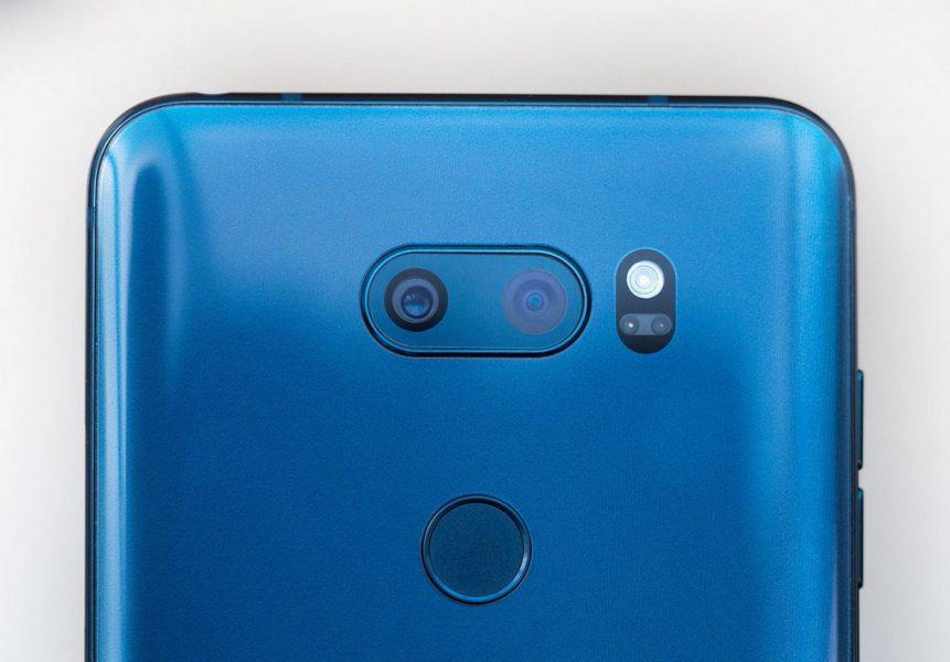 Обзор нового флагмана LG V30. Гаджет, которым хочется обладать LG  - lg-v30-moroccan-blue-photo-6