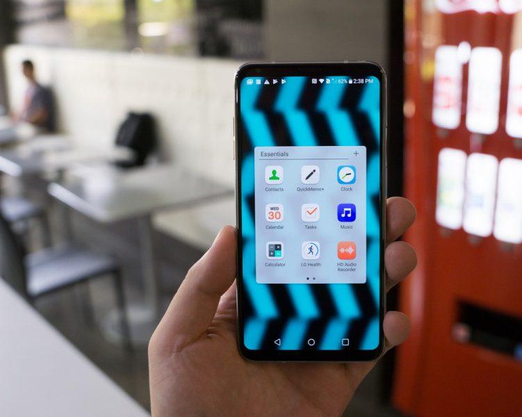 Обзор нового флагмана LG V30. Гаджет, которым хочется обладать LG  - lg-v30-prilozheniya