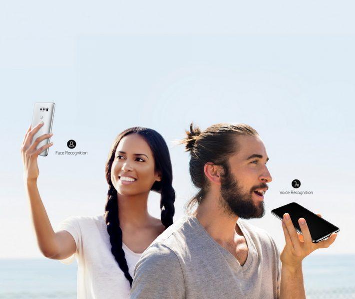 Обзор нового флагмана LG V30. Гаджет, которым хочется обладать LG  - lg-v30-voice-and-face-recognition