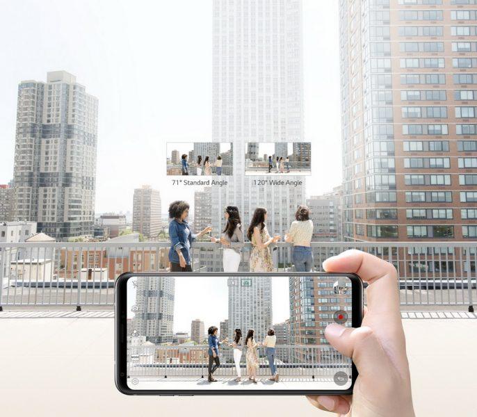 Обзор нового флагмана LG V30. Гаджет, которым хочется обладать LG  - lg-v30-wide-angle-cameras