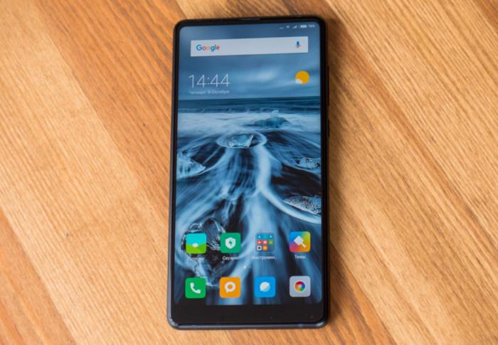 Обзор нового безрамочного Xiaomi Mi Mix 2 Xiaomi  - mimix2_05