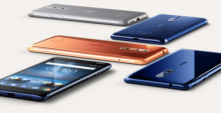 Распаковка и тесты на прочность Nokia 8 Другие устройства  - nokia_8_press_06