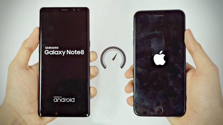 Тест скорости iPhone 8 и Samsung с 6 гигабайтами ОЗУ Apple  - note8_iphone8_st-2.-750