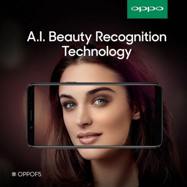 Анонс OPPO F5 – безрамочный мобильный гаджет с ИИ Другие устройства  - oppo_f5_selfie_01