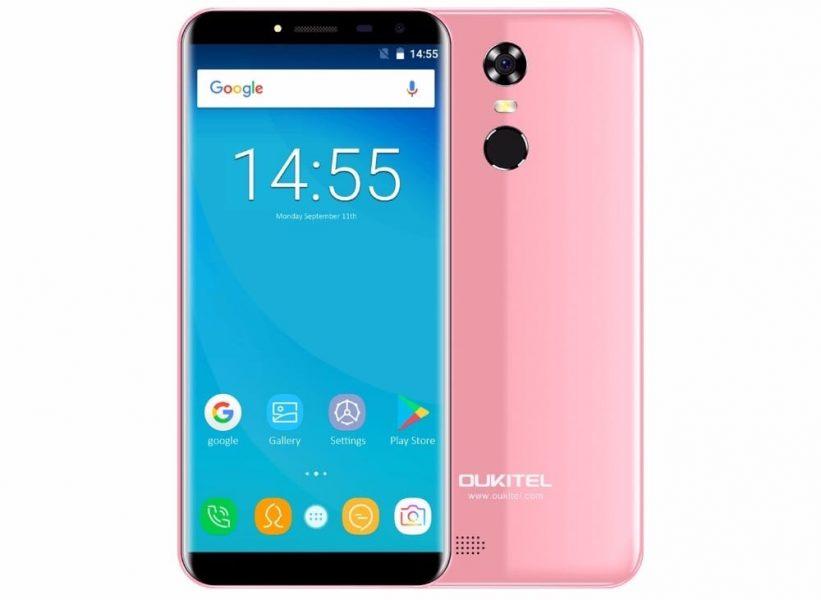 Купить аналог Samsung Galaxy S8 можно всего за 3 500 рублей Другие устройства  - samsung-galaxy-s8-oukitel-c8-4
