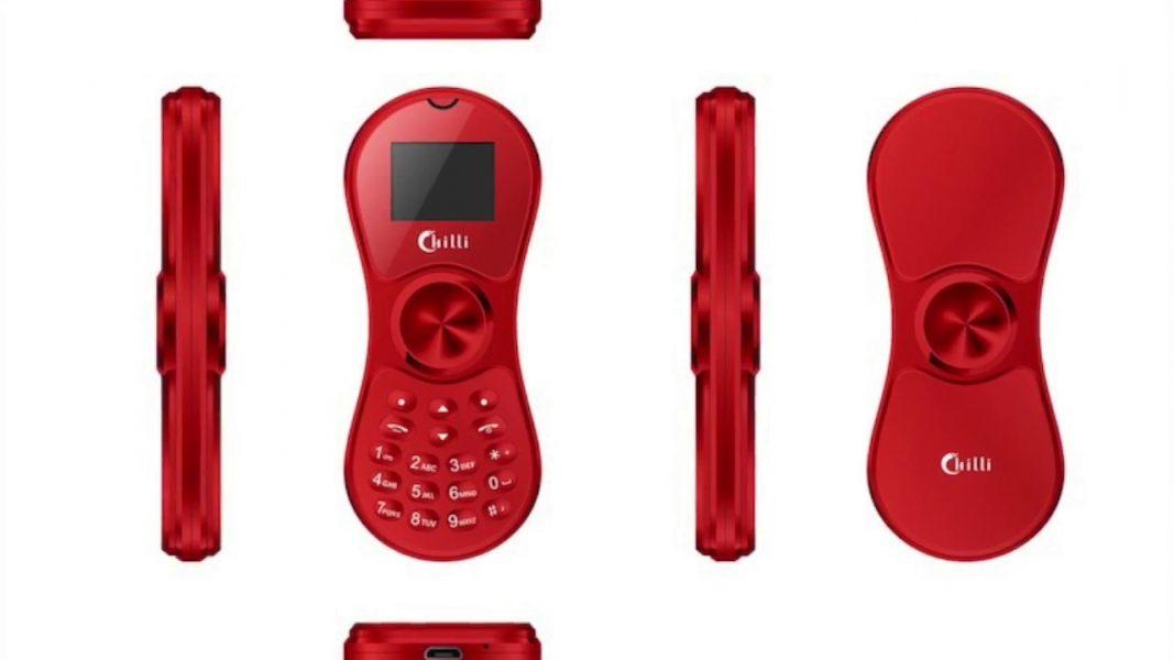 Китайцы создали телефон Chilli K188 в форме спиннера Другие устройства  - spinnerphone-1