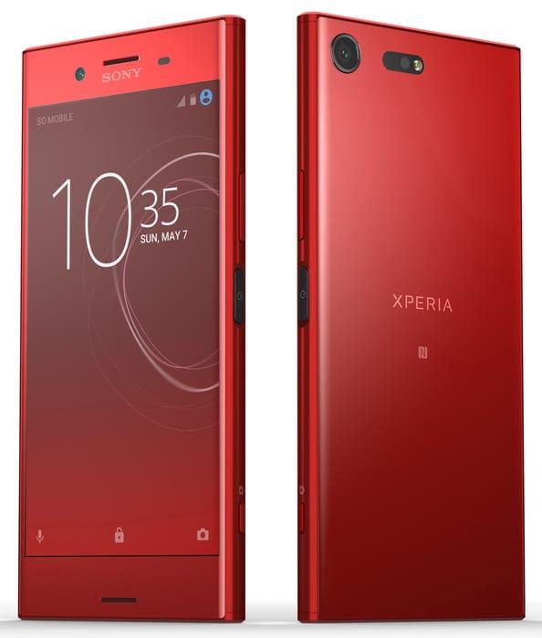 Самый красивый флагман Sony уже в России  – официальная цена Другие устройства  - xperia-xz-premium-red-1