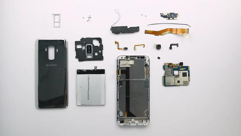 BLUBOO S8 +: видеобзор заменяемой начинки смартфона Другие устройства  - 02b2ec3814bdf97946035f6fe36e9cf6