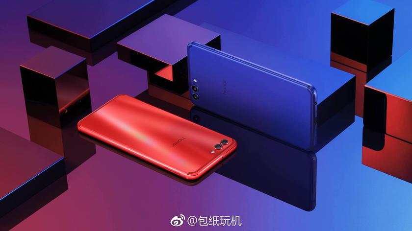 Huawei показала дешевый флагман Honor V10 с тонкими рамками Huawei  - 40e27f697e6fef70a51d52c9542f72a4