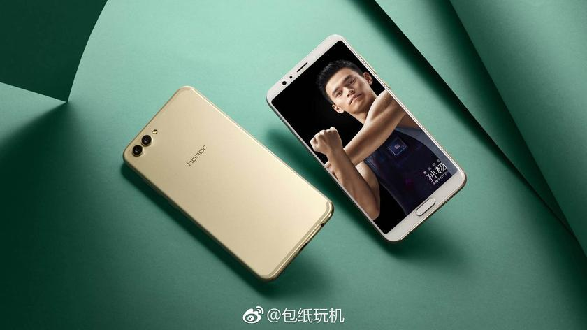 Huawei показала дешевый флагман Honor V10 с тонкими рамками Huawei  - 85f6569992bc4915d2ee0c39015ef211