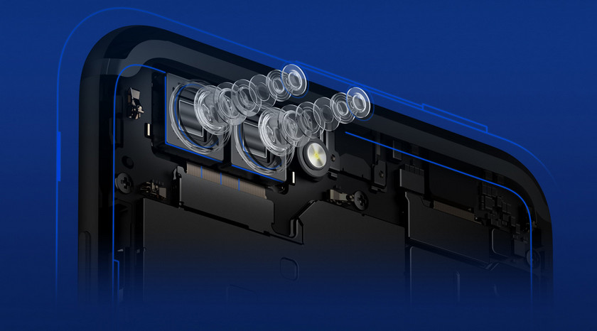 Huawei показала дешевый флагман Honor V10 с тонкими рамками Huawei  - honor-v10-camera