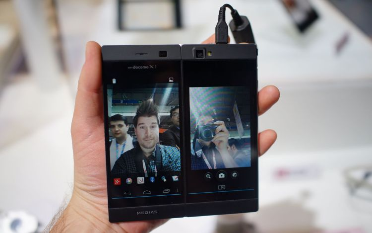Невероятные складные смартфоны от Oppo - будущее смартфонов ? Другие устройства  - nec.-750
