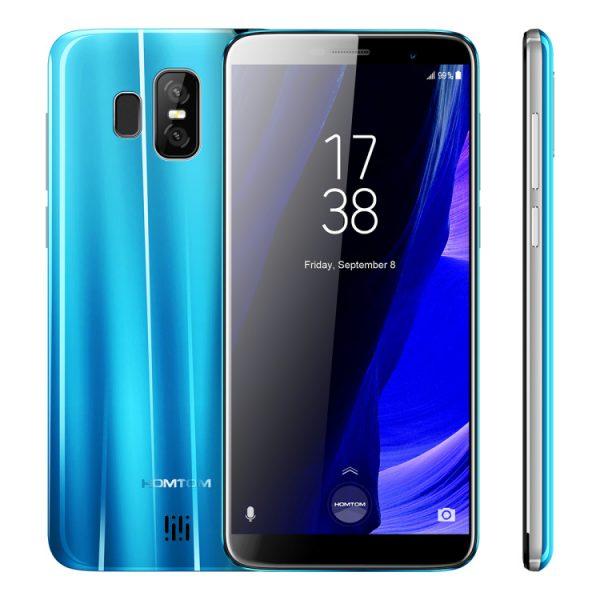 HOMTOM продает безрамочный смартфон всего за 100 долларов Другие устройства  - s7-blue.-750