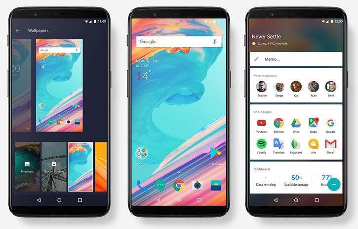 Дата релиза новенькой Android Oreo для OnePlus 5 и 5T Другие устройства  - oneplus_5t_press_04