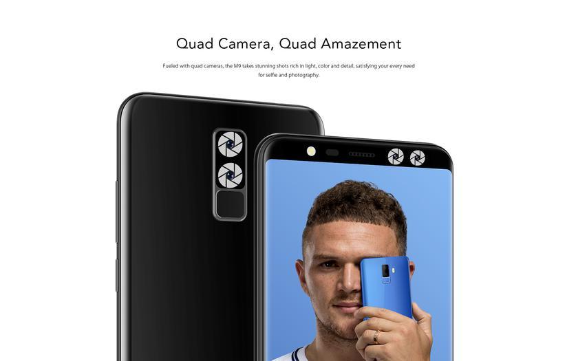 Скидка 20% на смартфон LEAGOO M9 с четырьмя отличными камерами Другие устройства  - 47f9aa0df2004684436f3fc4d2360e75