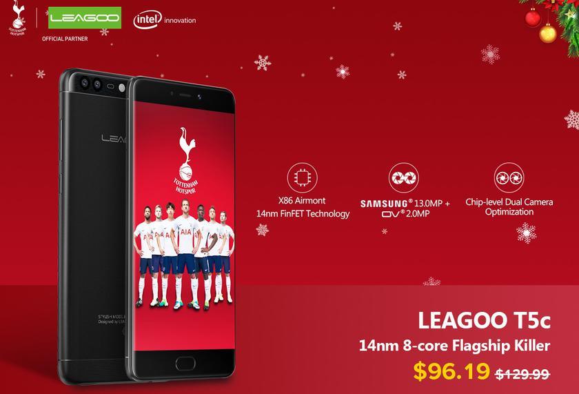 Рождественские скидки на LEAGOO T5C, мощный смартфон по очень низкой цене Другие устройства  - 74a1c48f025f82512b0dddb5600ef6d2