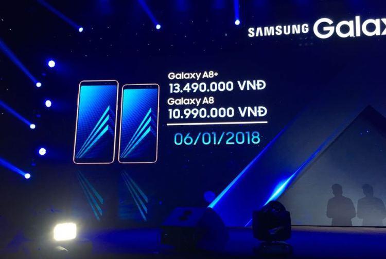 Стала известна цена и сроки старта продаж Galaxy A8 и A8+ в России Samsung  - a8-1.-750