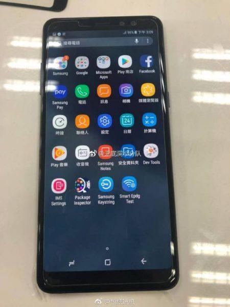 «Живые» фото нового смартфона Samsung Galaxy A8+ Samsung  - a8.-750-1