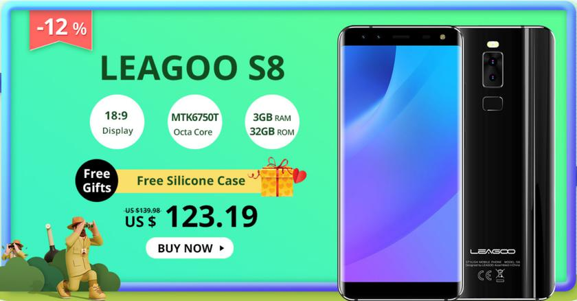 LEAGOO дает шикарную скидку в 50% на свои топовые гаджеты в честь годовщины Другие устройства  - c9328e7da114a87e4f954bc6d0ee9a44