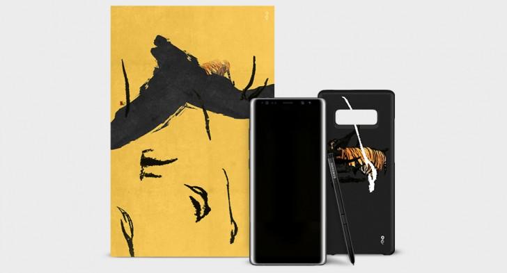 Эксклюзивная серия Galaxy Note 8 с дизайнерским чехлом + фото Samsung  - gsmarena_002_5ls21xe