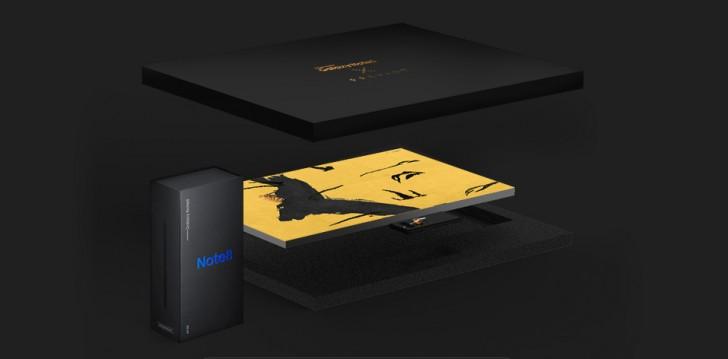 Эксклюзивная серия Galaxy Note 8 с дизайнерским чехлом + фото Samsung  - gsmarena_003