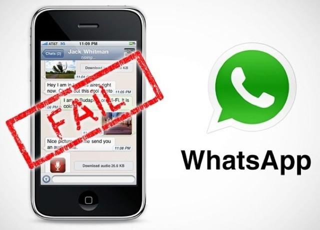WhatsApp прекращает поддержку этих телефонов в 2018 году Интернет  - iphone3g-whatsapp1