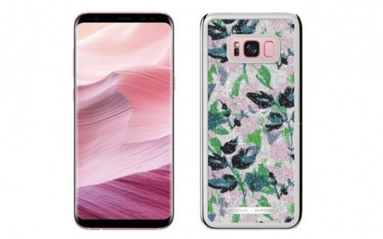 Samsung показала ограниченную версию  Galaxy S8+ с кристаллами Swarovski Samsung  - smartgirl.-750