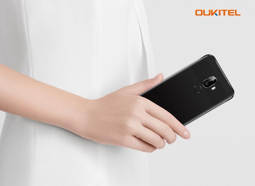OUKITEL U18 : жгучая смесь iPhone X и Huawei Mate 10 Pro Huawei  - 2936c2365eb55835f9501190d3f29efe