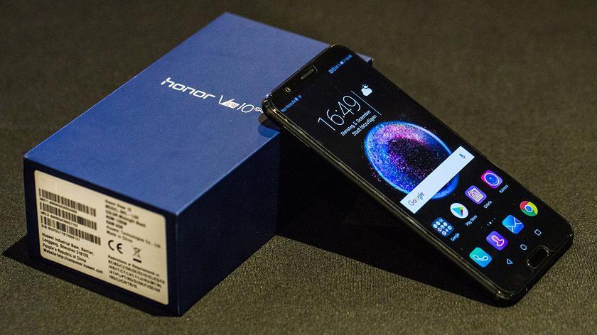 Huawei Honor View 10 обновление с функцией Face Unlock Huawei  - 7141b75f316f7febbc7c2d1b49a11729