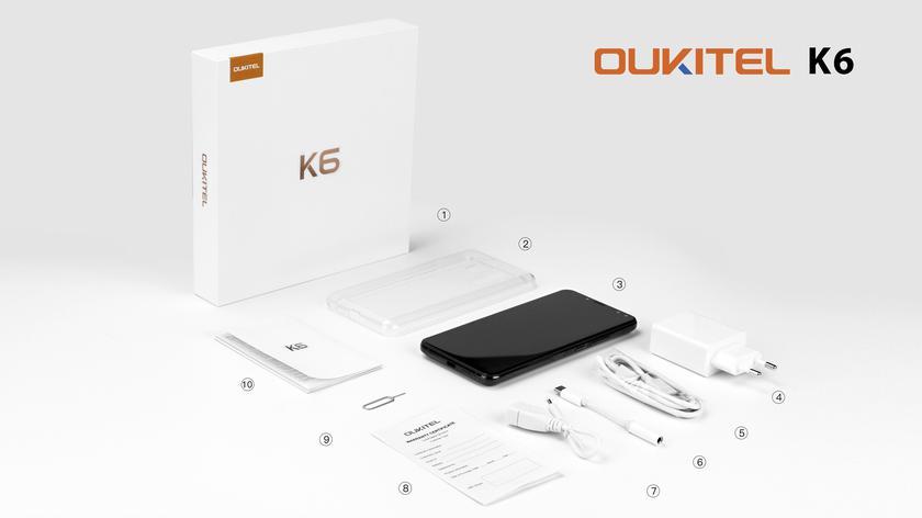 Свежий OUKITEL K6 и видео распаковка смартфона Другие устройства  - 91396a39c73dd825c5fe483aed46ab54