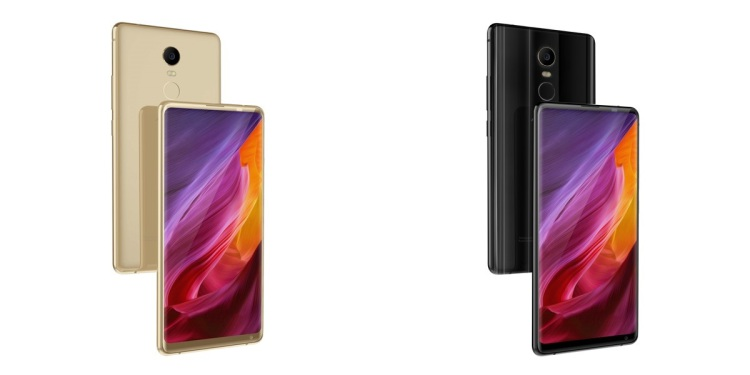 Китайцы показали еще один клон Mi MIX 2 Другие устройства  - AllCall-MIX2-specs-3-1.-750