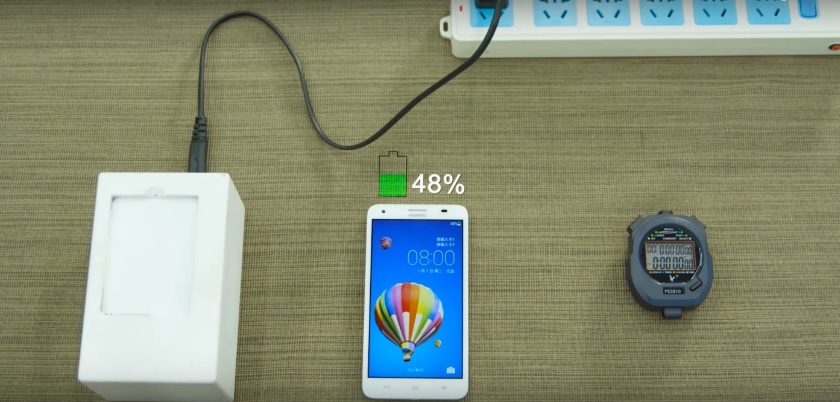 На MWC 2018, Huawei похвастается своей новой технологией быстрой зарядки Huawei  - Fast-Charging