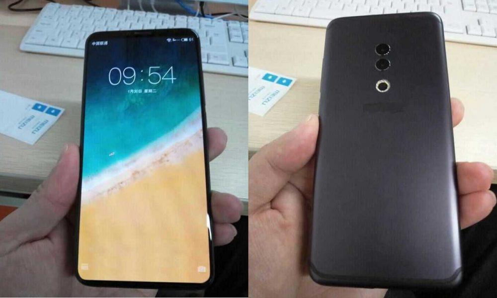 Новые снимки Meizu 15 Plus: прямо как iPhone X, только без брови Meizu  - Meizu15-plus
